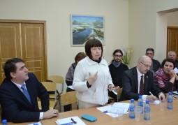 Участники встречи смогли задать вопросы и обсудить возможности развития сельских территорий Беларуси
