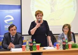 Елена Липа, консультант управления высшего образования Министерства образования Республики Беларусь, подводит итоги олимпиады