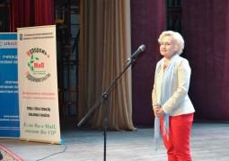 Жанна Филиппова, директор Учреждения «Новая Евразия», генерального партнера Чемпионата, приветствует участников мероприятия