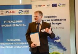 Сергей Тарасюк, директор Международного фонда развития сельских территорий, рассказал об опыте реализации проекта по совершенствованию местных стратегий устойчивого развития